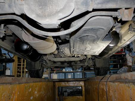 УАЗ Патриот баллоны на место топливных баков