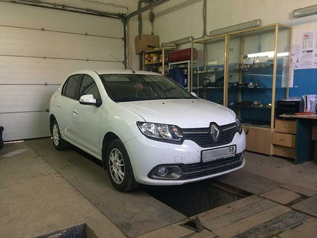 Renault Logan 2#ГБО#BRC