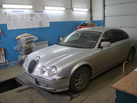 Переводим на газовое топливо Jaguar S-Type
