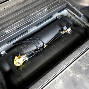 Еще один вариант размещения в Toyota Rav4