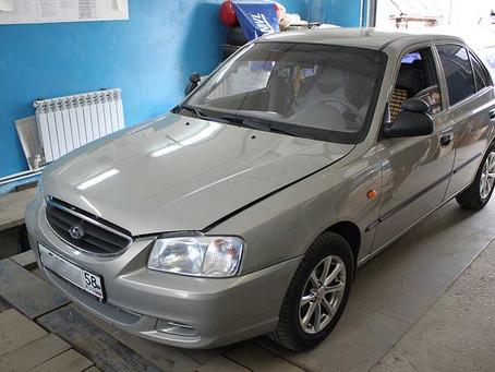 Устанавливаем итальянское гбо на Hyundai Accent