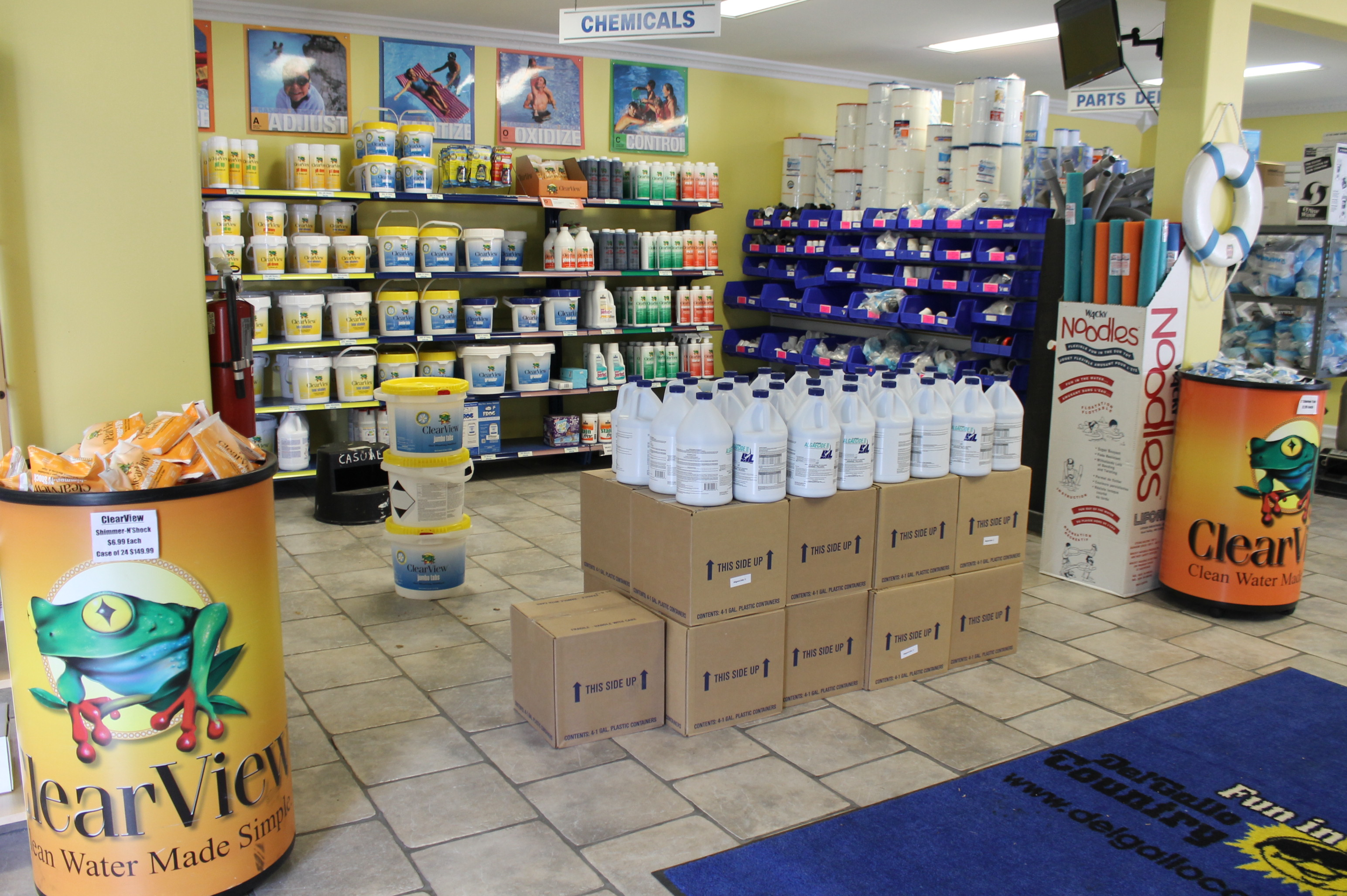 Pool Supplies - Chemicals, Chlorine