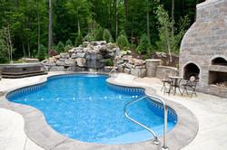 Lagoon Pool 16'x34'x25'