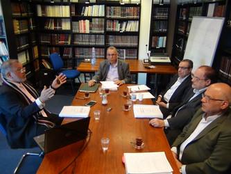 مناقشة أطروحة الدكتوراه للباحث جلال فيروز غلوم