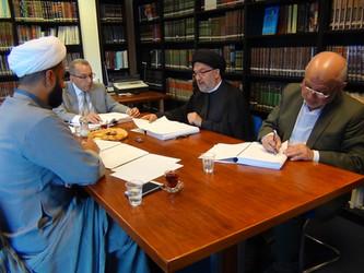 مناقشة أطروحة الدكتوراه للباحث جمال محمد آل خرفوش