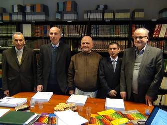 مناقشة أطروحة الدكتوراه للباحث أحمد جودي البغدادي