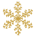 snow flakes - gold.png