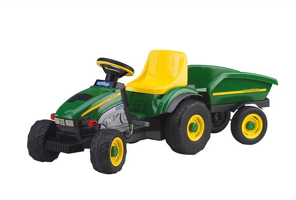 John Deere Farm Tractor & Trailer