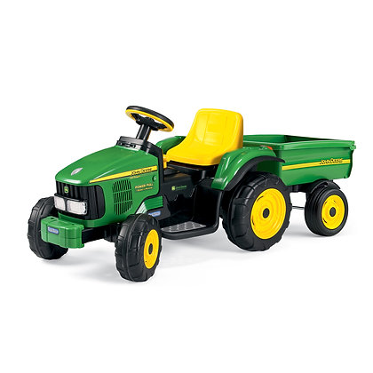 John Deere Power Pull with Trailer