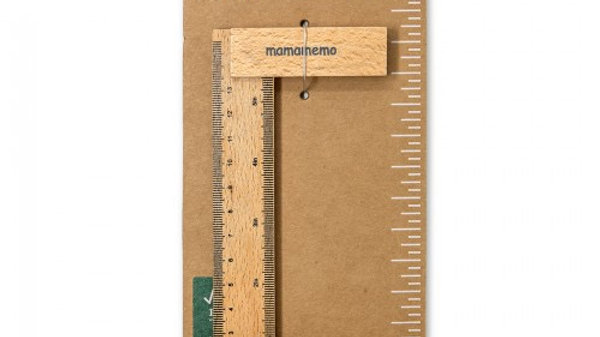 MamaMemo Wooden Workshop Tools - Carpenters square