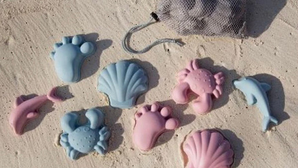 Scrunch - Beach Moulds set