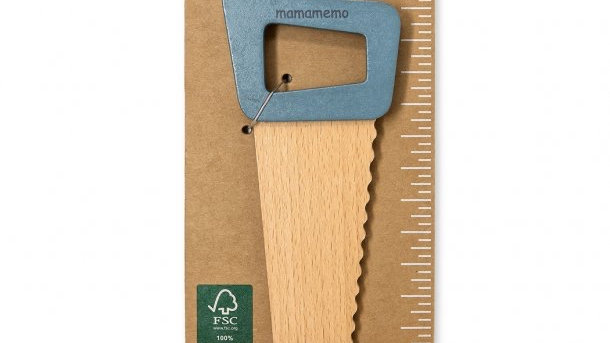 MamaMemo Wooden Workshop Tools - Saw