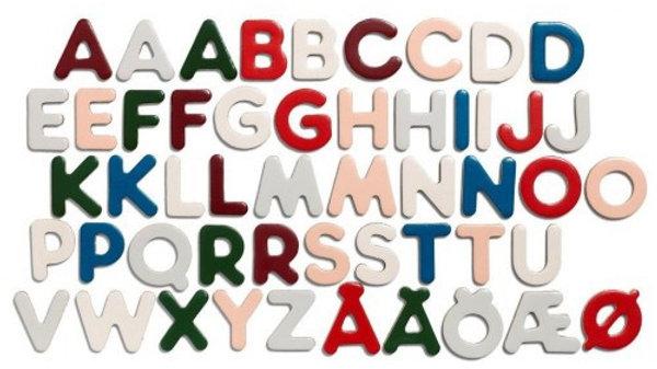 Micki Senses - Wooden magnetic Letters