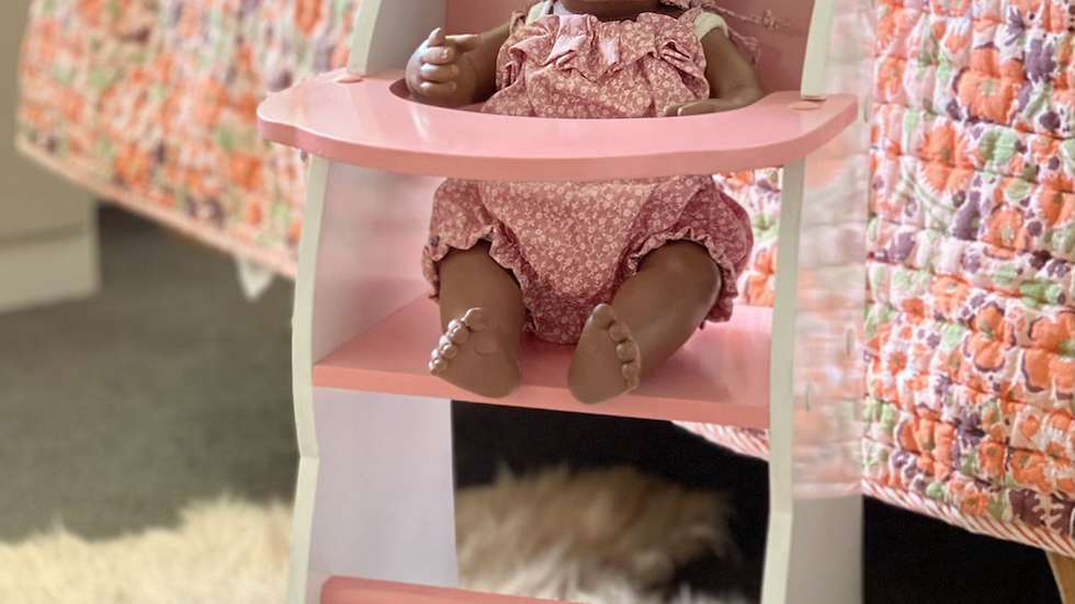Limited Edition Dolls Highchair (local pickup only)