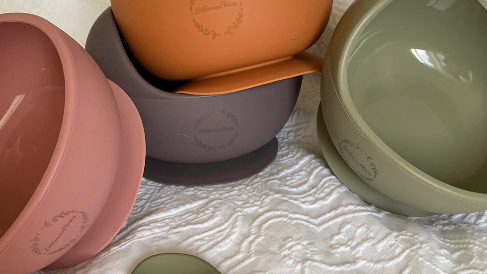 Silicone Infant Bowl with spoon