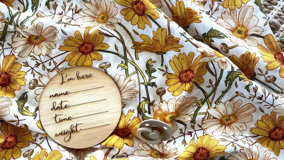 Florence Bamboo Swaddle