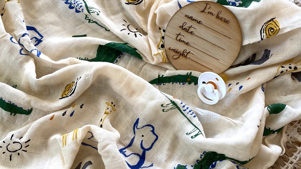 In the wild Bamboo Swaddle