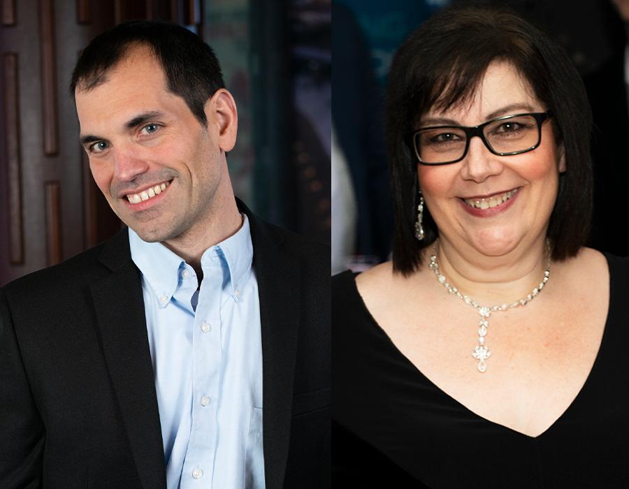 Jason Caparoso and Maryann Pagano, BlackHawk Data