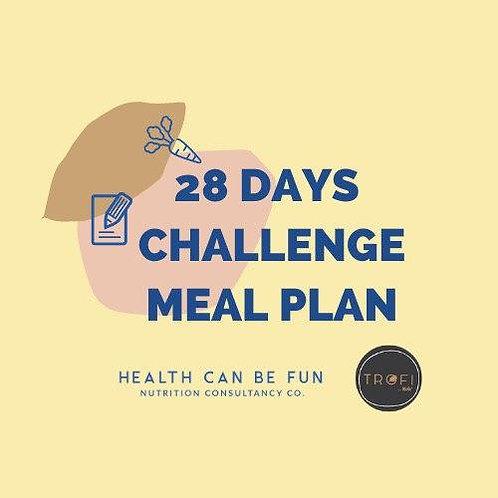 28 Days Meal Plan