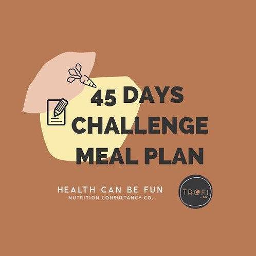 45 Days Meal Plan (F45Challenge)