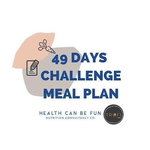 49 Days Meal Plan (Challenge)
