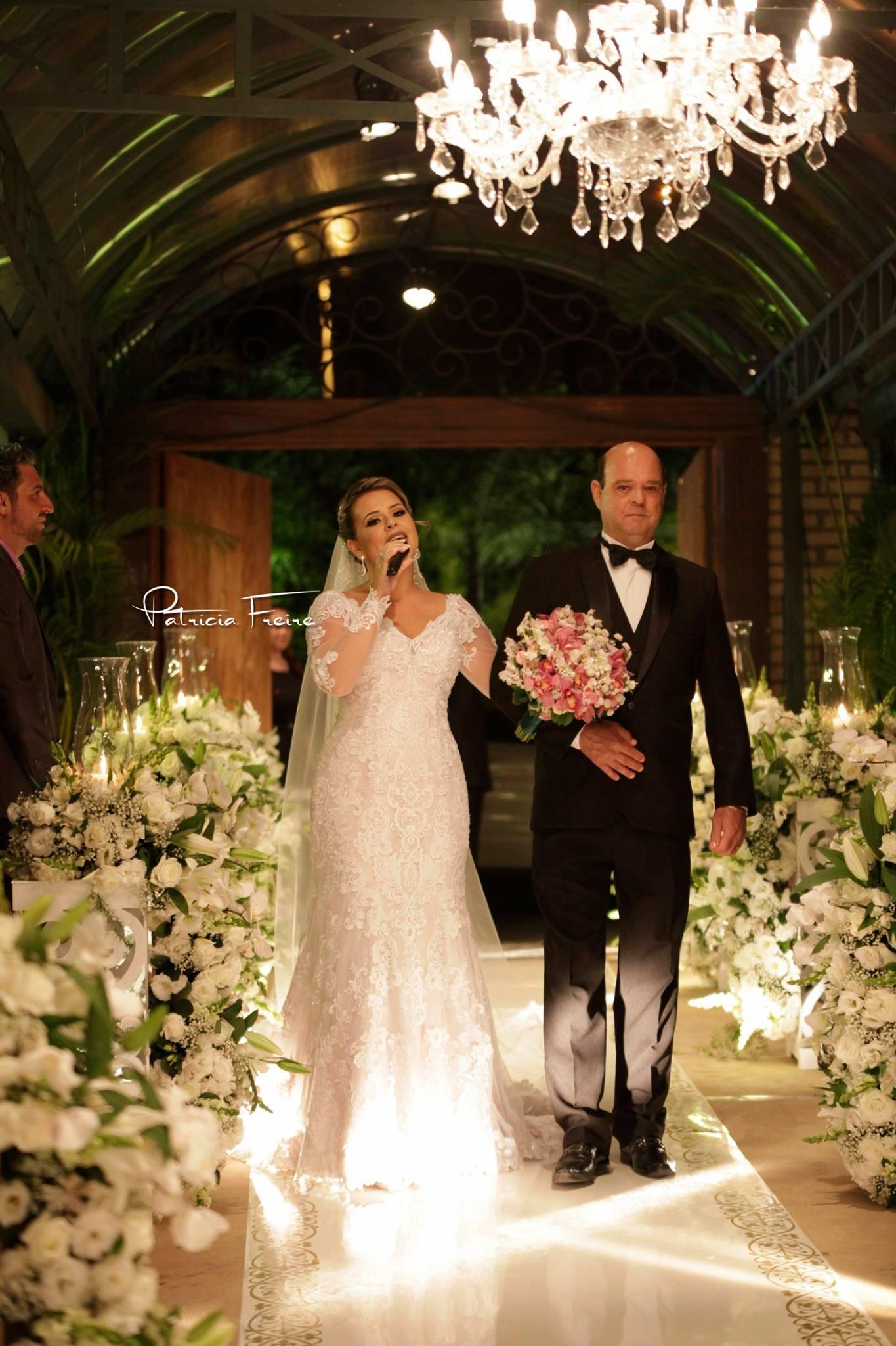 Entrada da noiva Bruna