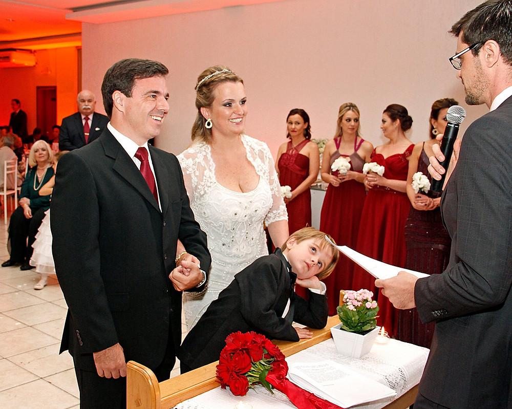 Casamento cerimonial americano