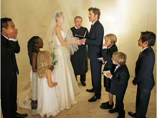 Quando papai e mamãe resolvem se casar...