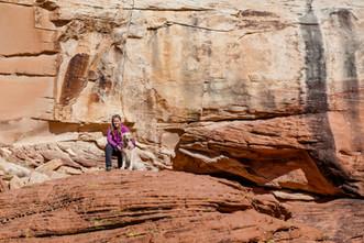 Krystal & Liberty at Red Rock outside Las Vegas