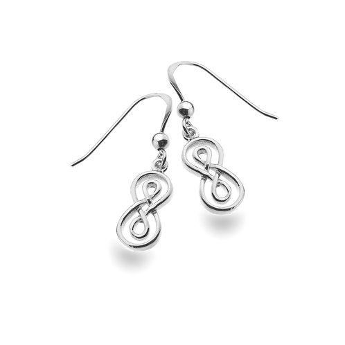 Celtic Lands Infinity Knot Drop Earrings