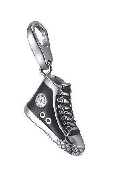 Giorgio Martello Lucky Charms: Sterling Silver  Black Converse