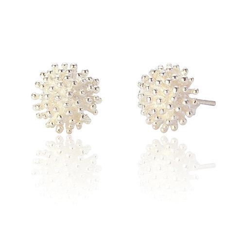 Seodra Sterling Silver Allium Earrings