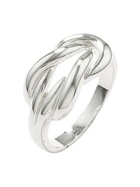 Seodra Sterling Silver Knot Ring
