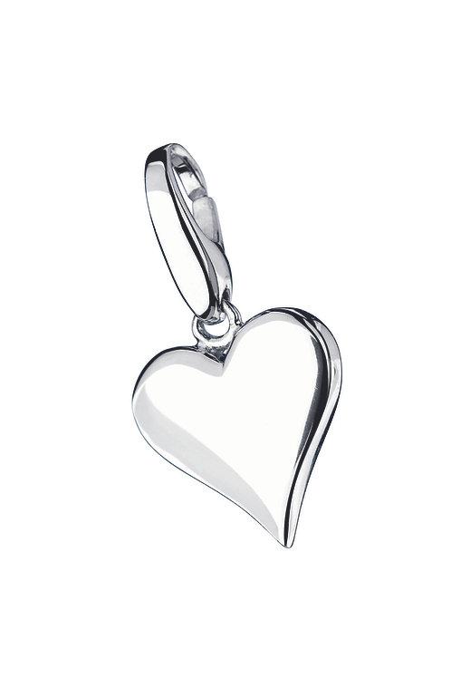 Giorgio Martello Lucky Charms: Sterling Silver Casino Heart