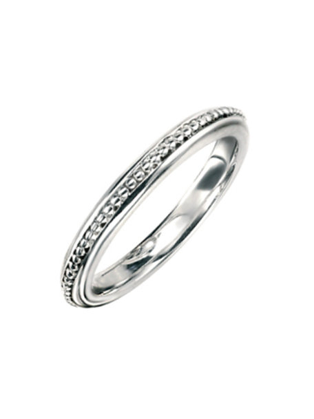 Seodra Sterling Silver Bead Effect Ring
