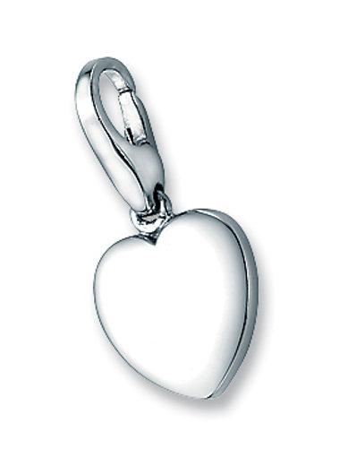 Giorgio Martello Lucky Charms: Sterling Silver Love Heart