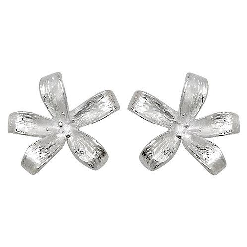 Seodra Sterling Silver Lily Stud Earrings