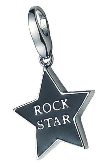 Giorgio Martello Lucky Charms: Sterling Silver  'ROCK STAR'