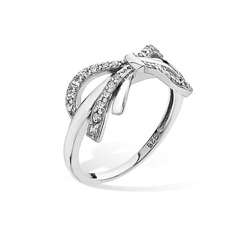 Seodra Sterling Silver Bow Ring