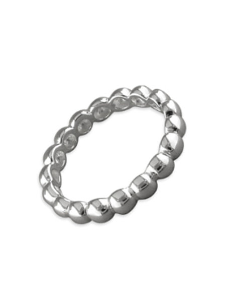 Seodra Sterling Silver Bead Ring