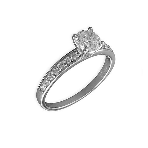 Seodra Sterling Silver Engagement Ring