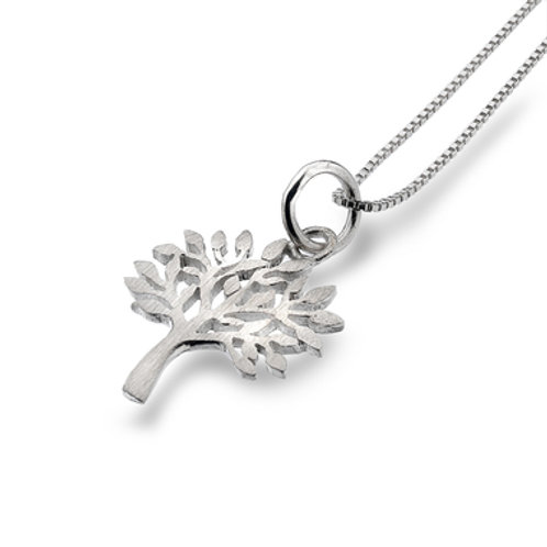 Pure Origins Sterling Silver Tree of Life Necklace