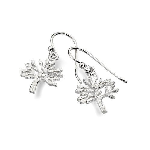 Pure Origins Sterling Silver Tree of Life Earrings