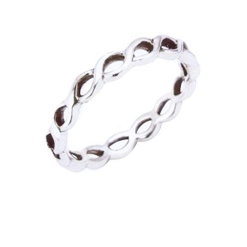 Seodra Silver Plait Ring