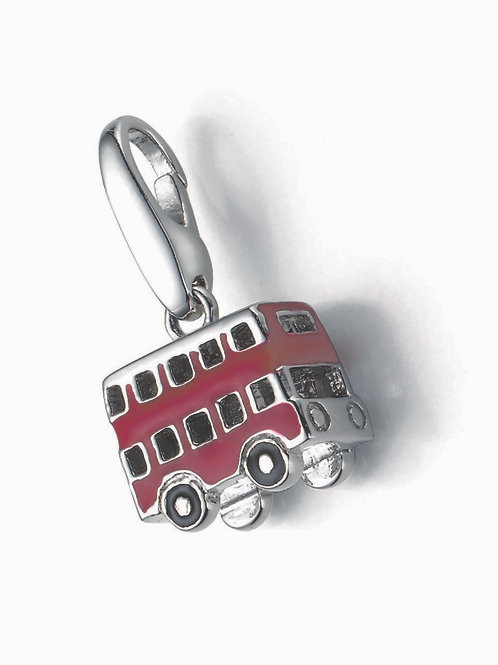 Giorgio Martello Lucky Charms: Sterling Silver London Bus
