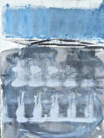 """Window of Tolerance (2015), charcoal, acrylic on paper, 30x22"""""""