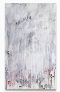"""Words That Matter (2)(2019) acrylic, charcoal, graphite on canvas, 60x36"""""""