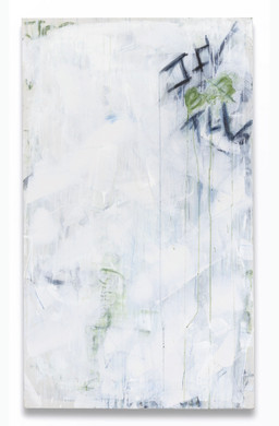 """Words That Matter (1)(2019) acrylic, charcoal, graphite on canvas, 60x36"""""""