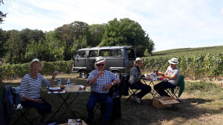 Pique-nique au cœur des vignes - Champagne Vollereaux