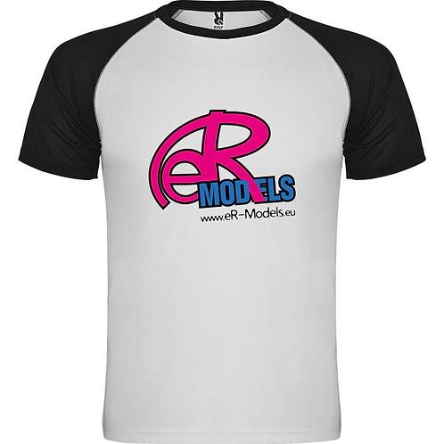 Спортивная футболка с цветным рукавом Indianapolis